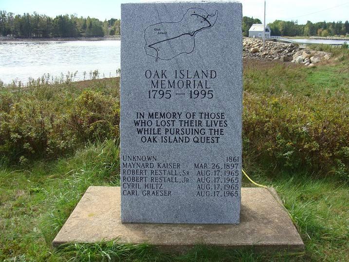 Oak Island Deaths Aug