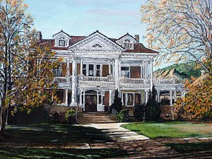 Mapleton Homestead in Boulder Colorado by Boulder artist Tom Roderick
