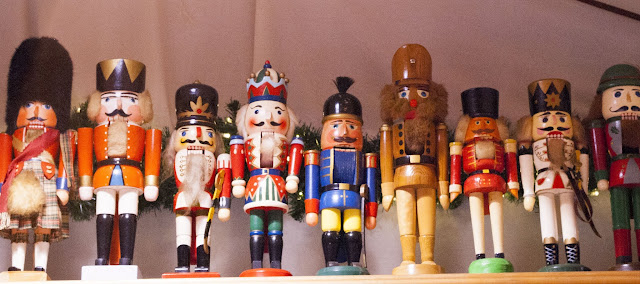 Christmas nutcrackers at the Christmas market in Berlin, Germany