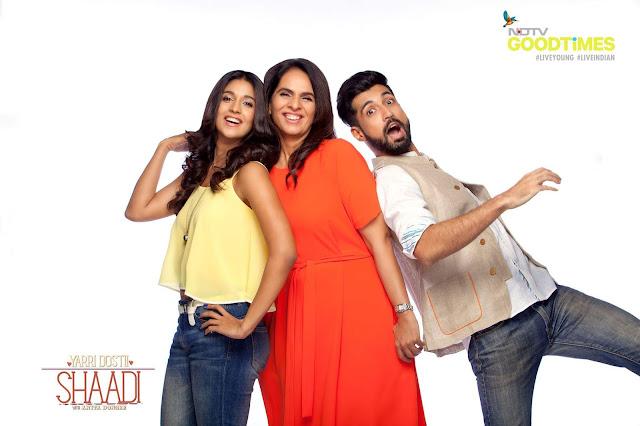 'Yarri Dostii Shaadi' with Anita Dongre NDTV Good Times Wedding Tv Show Plot,Anchor,Timing,Promo