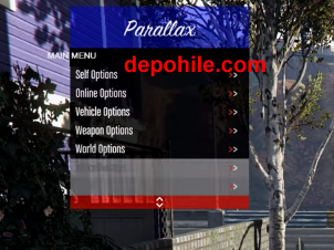 GTA5 Online 1.46 Parallax Menu Level,Recovery Hile 23.01.2019