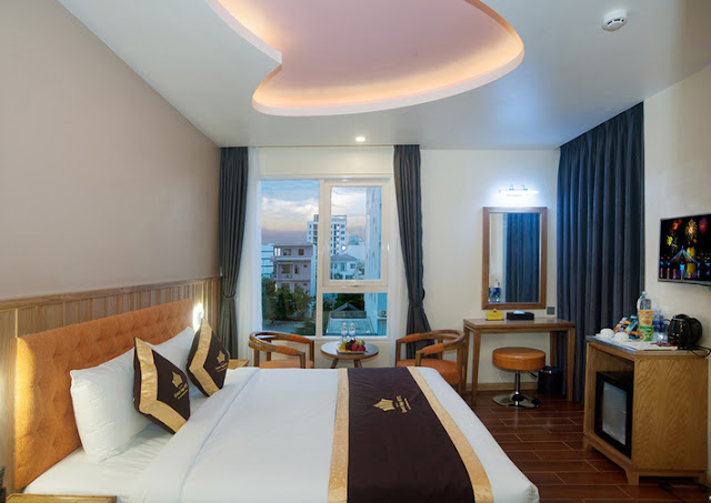 Voucher khách sạn 3 sao gần biển - Queen's Finger Hotel Đà Nẵng