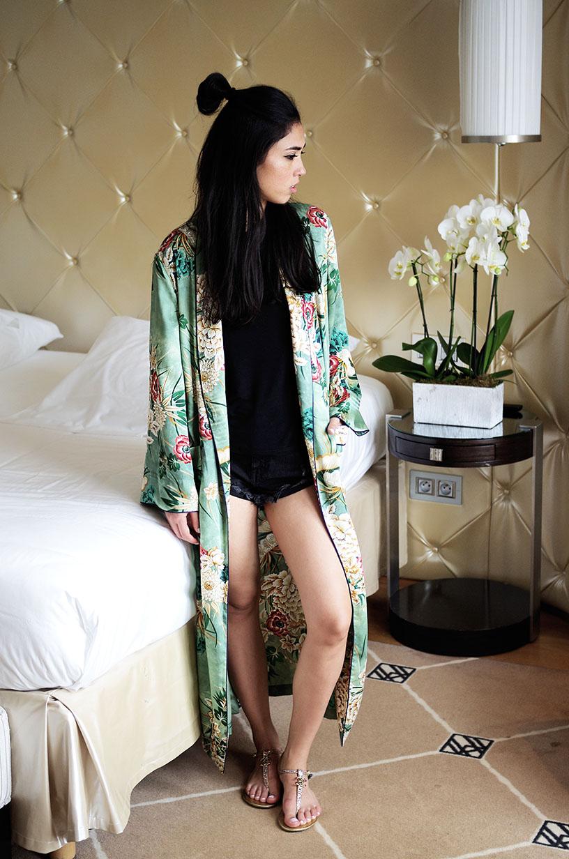 Elizabeth l Kimono Cannes outfit l blog mode hotel martinez Zara Asos Chanel l THEDEETSONE l http://thedeetsone.blogspot.fr