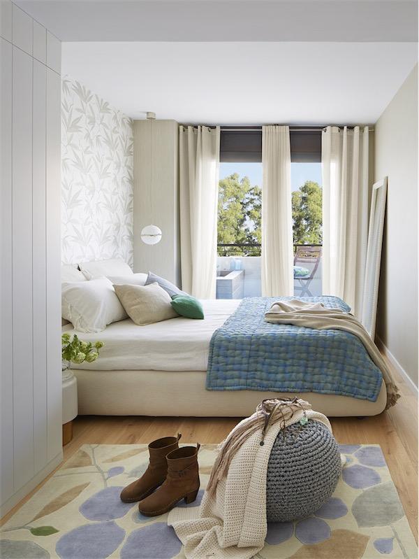 papel pintado en el dormitorio chicanddeco