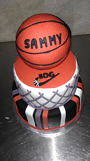 basketball groom's cake - wedding cake ideas - wedding planning