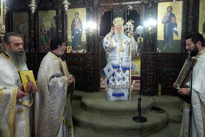 Με λαμπρότητα εορτάστηκε η Κυριακή της Ορθοδοξίας σε ναούς και μοναστήρια της Θεσπρωτίας