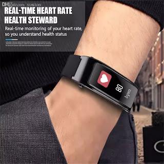 smartwatch braccialetto auricolare bluetooth