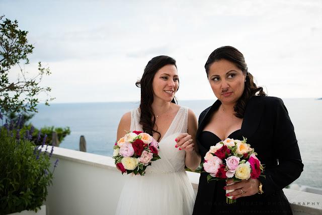 Same sex wedding Amalfi Coast