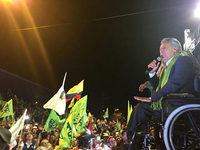 Presidente de El Salvador felicita a Lenin Moreno por su victoria en Ecuador
