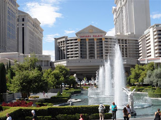 Fachada do Hotel Caesar Palace