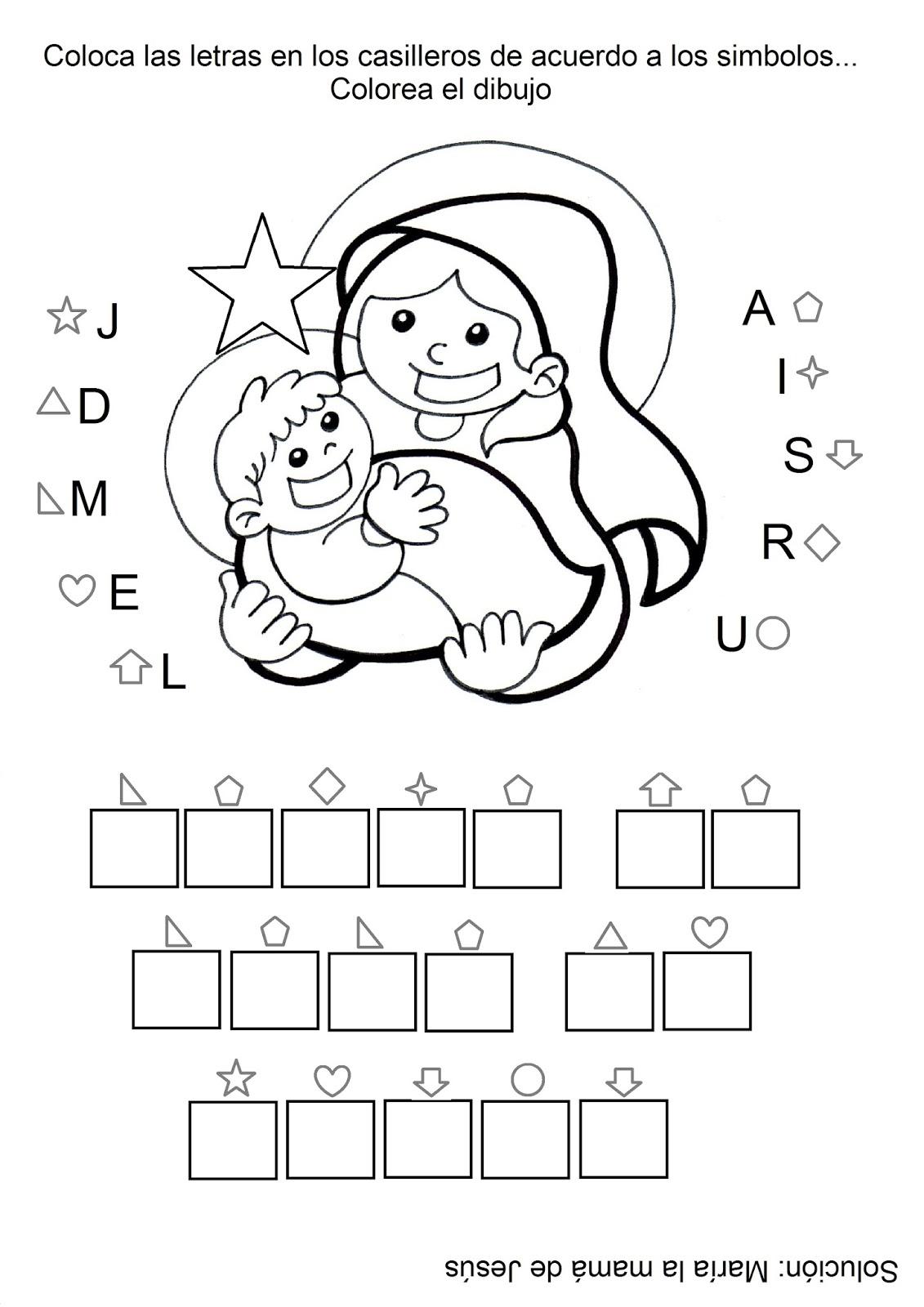 El Rincón de las Melli: La Mamá de Jesús (para los más chiquitos)