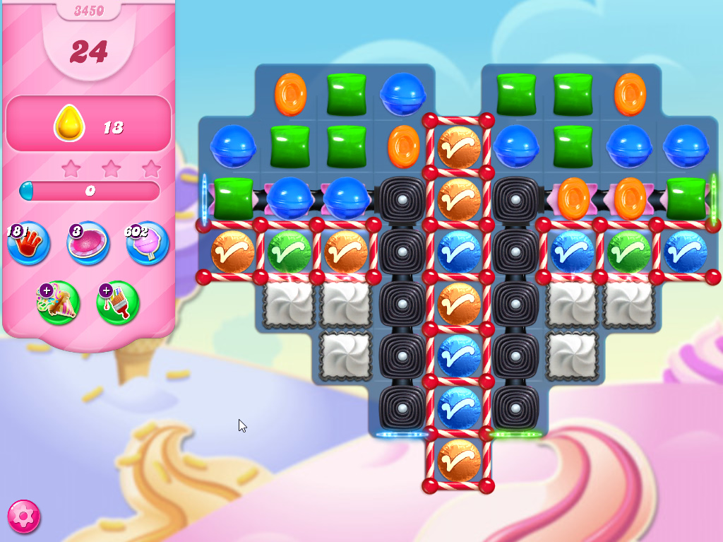 Candy Crush Saga level 3450