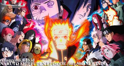 Download Naruto Shippuden Full Episode [01-500 END] Subtitle Indonesia