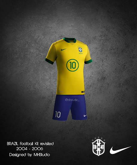 1fb0abf1 Brazil, England, France, Germany, Portugal & Spain Concept Kits by ...