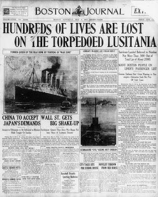 Causas entrada EE UU Iª Guerra Mundial