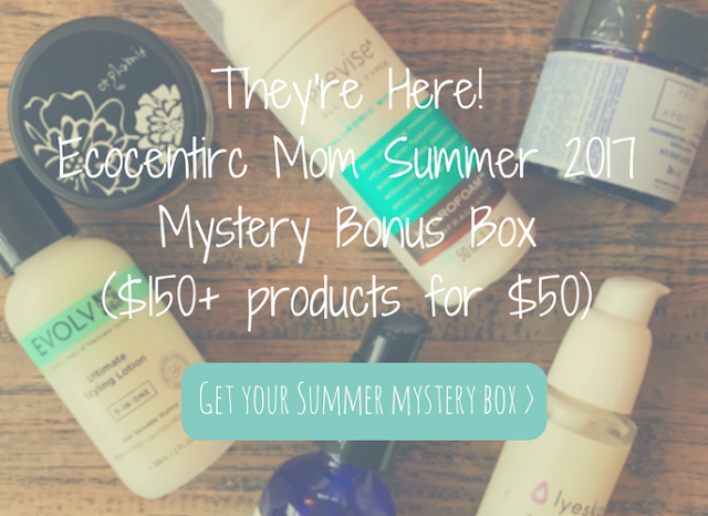 ecocentric mom mystery box + coupon