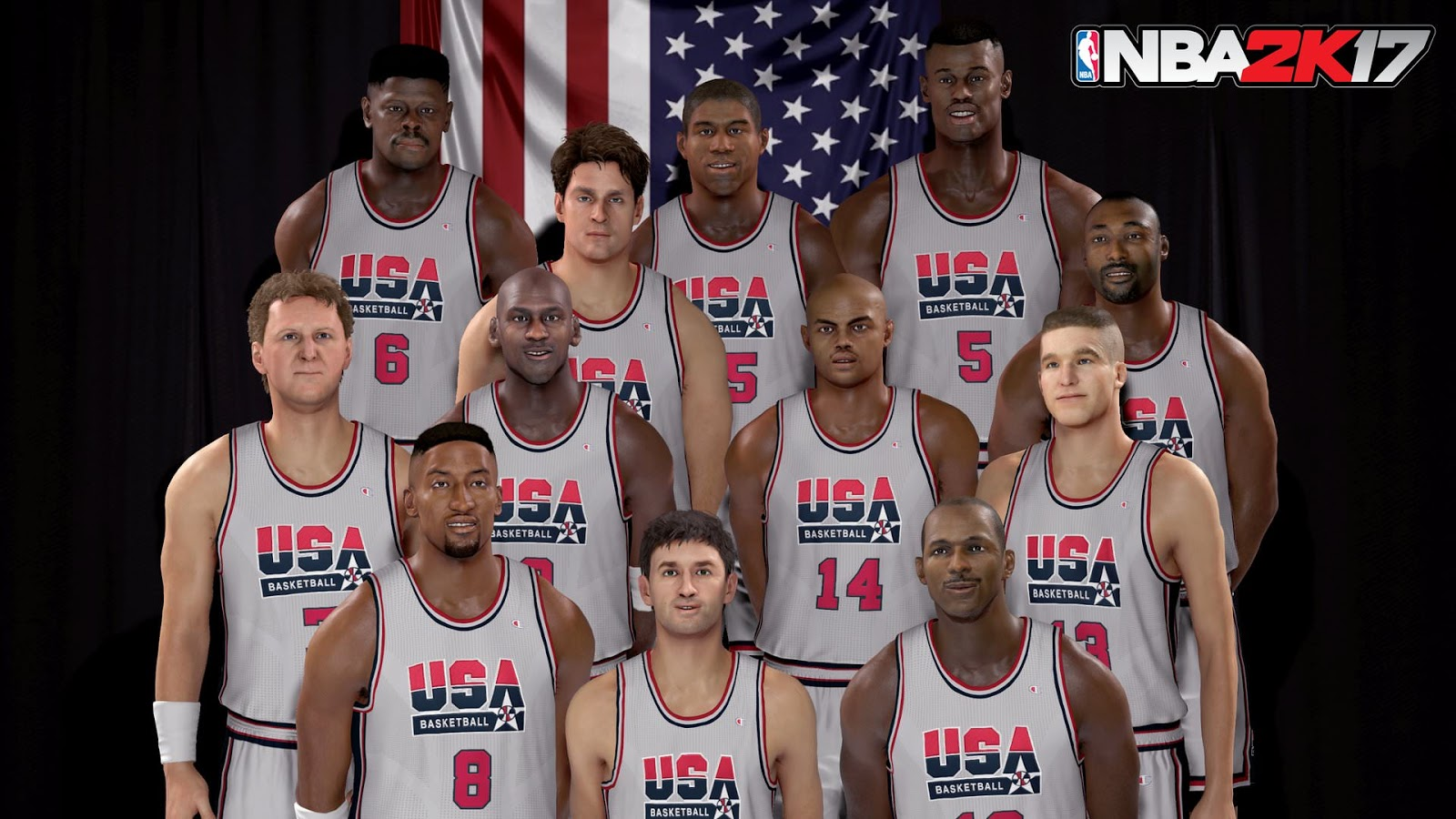 NBA 2k17 Screenshot - 1992 Dream Team