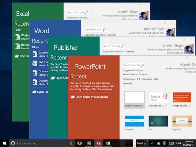 Microsoft Office 2016 AIO