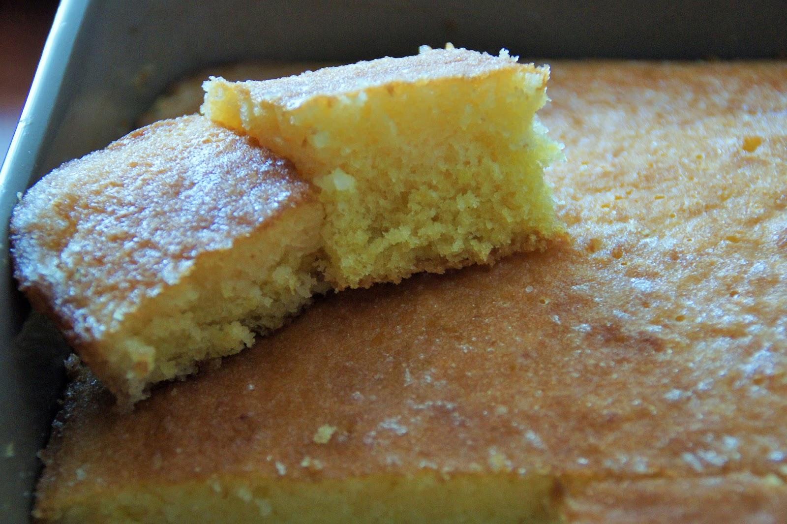 Lemon Drizzle Cake With Yellow Cake Mix