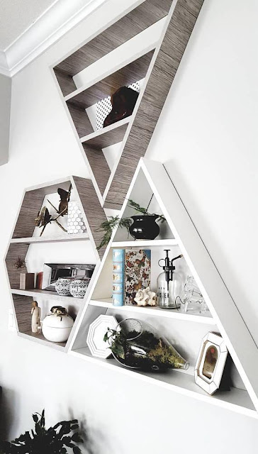 Geometric Wall Shelves