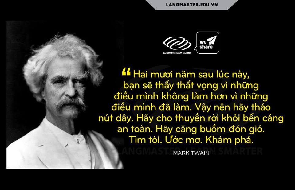 Câu nói hay của Mark Twain