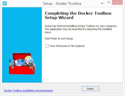 Instalar Docker Toolbox