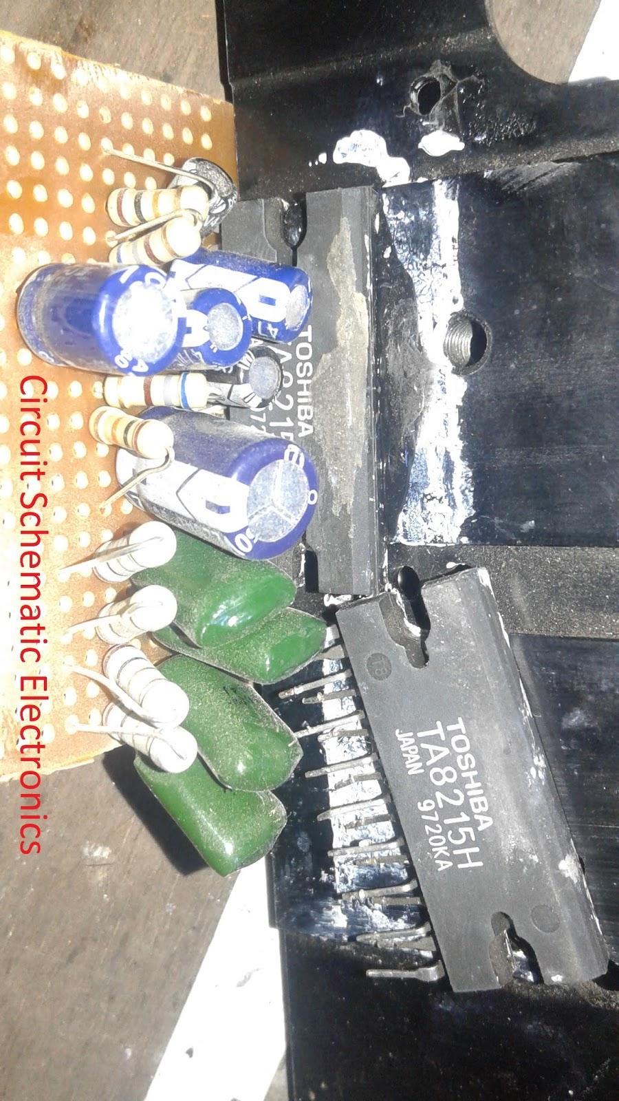 Ta8215 4 Channel Power Amplifier Circuit Audio Portable Transistor Tester Diagram Tradeoficcom