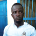 Notorious thief in police grip