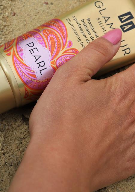 balsam rozświetlający z drobinkami aa glamour