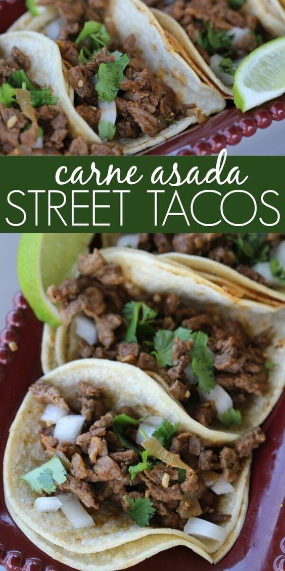 Easy Carne Asada Street Tacos recipe