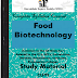 Food Biotechnology PDF Study Materials cum Notes, Engineering E-Books Free Download