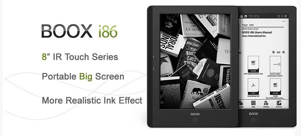 Onyx Boox i86 - czytnik dużego formaty