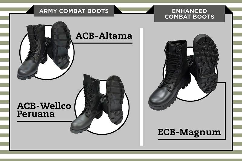 a4142d03c Soldiers of the Singapore Armed Forces (SAF) will soon be equipped with new  boots that are more rugged, while preserving its users' comfort and agility.