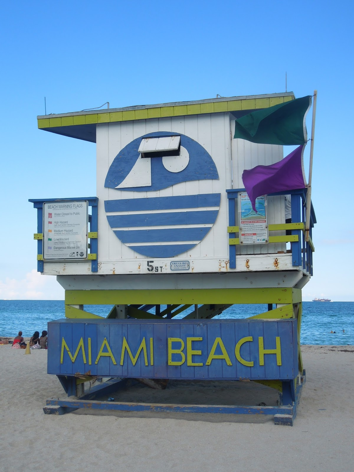 Miami Beach with South Beach and Art Deco District, USA