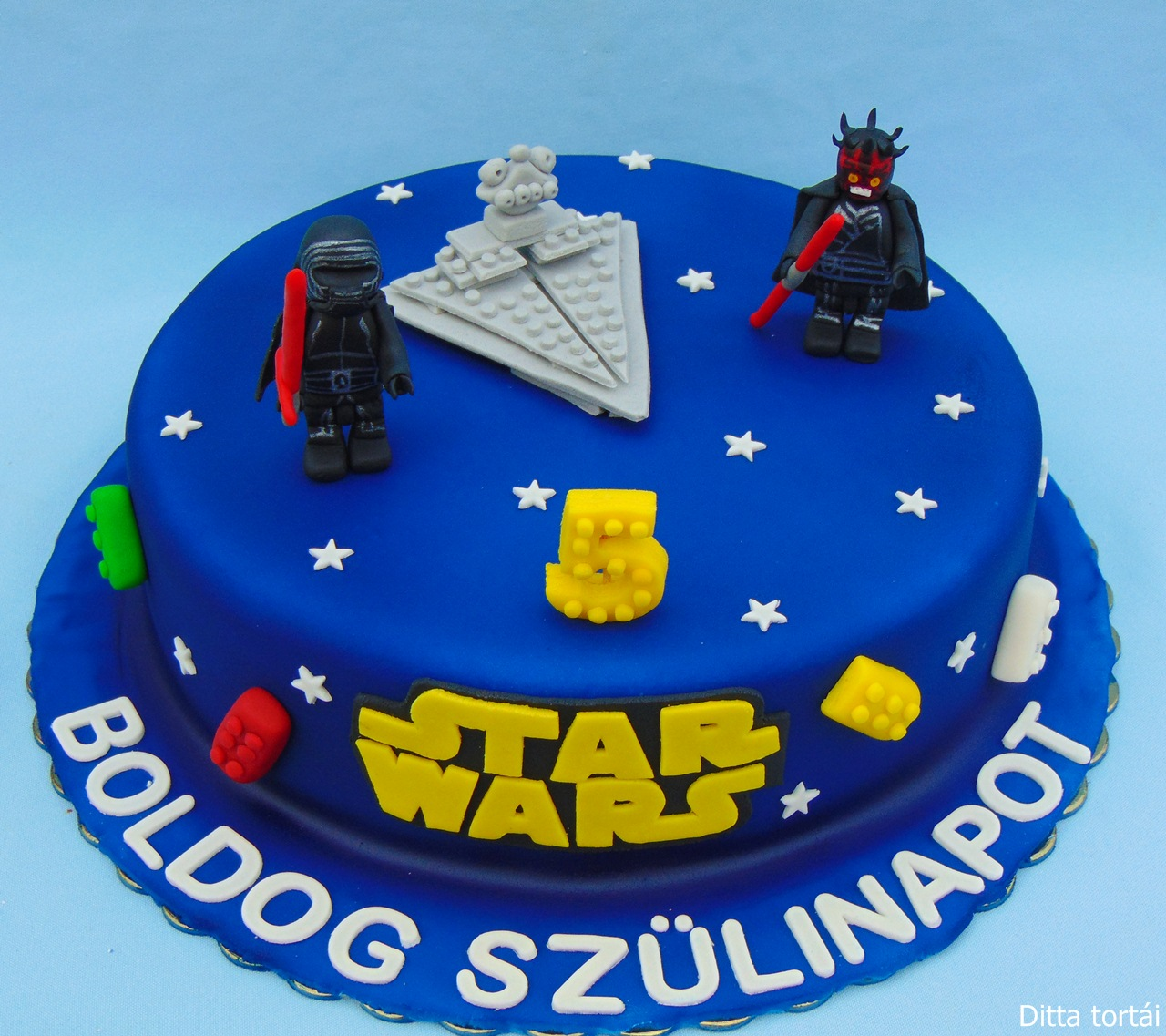 Molto Ditta tortái: Lego Star Wars torta RU67