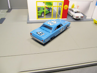 "Hot Wheels Hall of Fame ""Milestone Moments"" -Richard Petty Crowned King- '67 Plymouth"