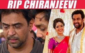 Who is Chiranjeevi Sarja & his relationship with Arjun | RIP Chiranjeevi