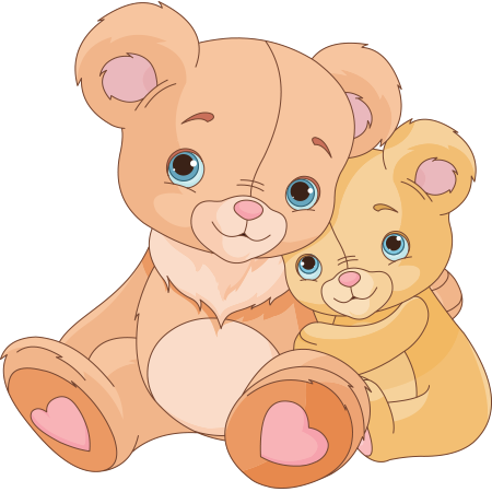 Pair of sweet bears