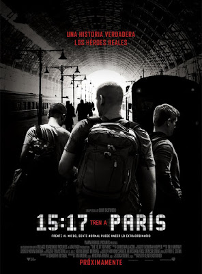 The 15:17 To Paris 2018 DVD R1 NTSC Latino