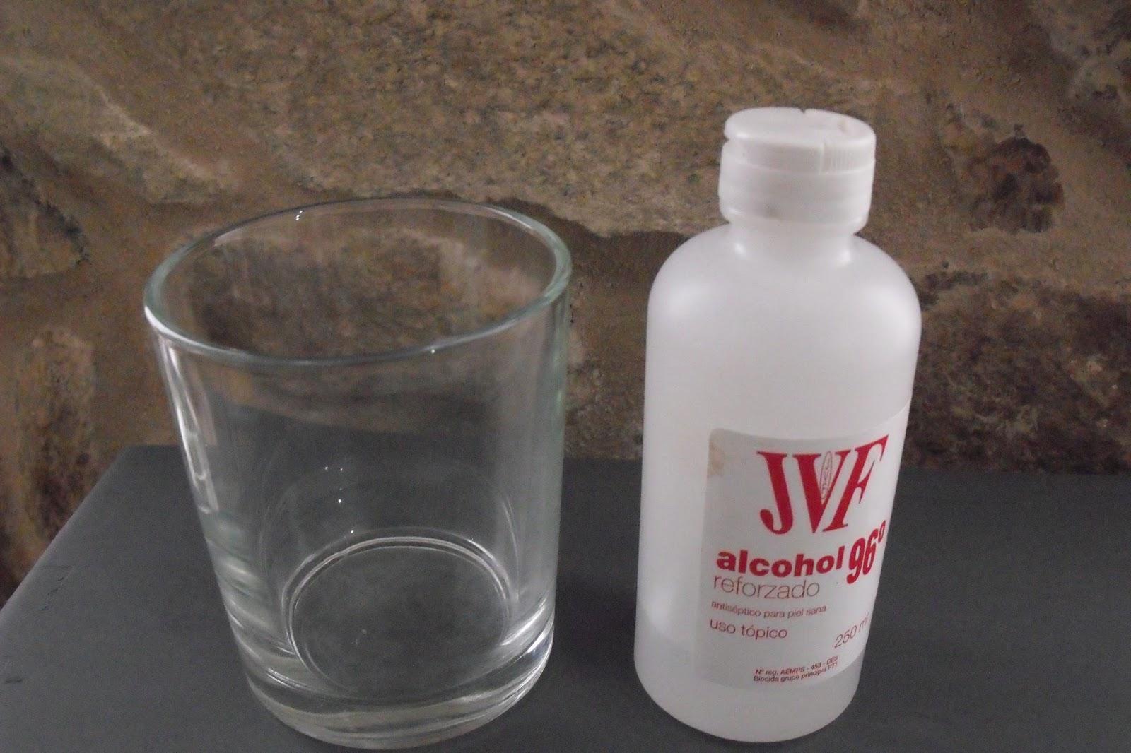 Lascosasdeleni grabando cristal con cido - Limpiar con alcohol ...