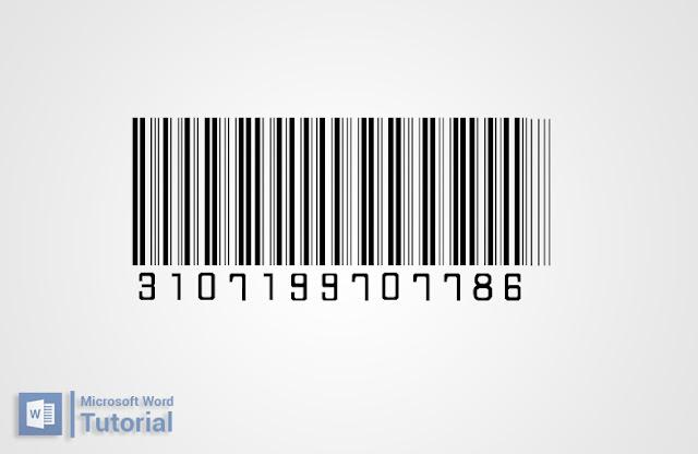 Cara Membuat Barcode di Microsoft Office Word dengan Mudah