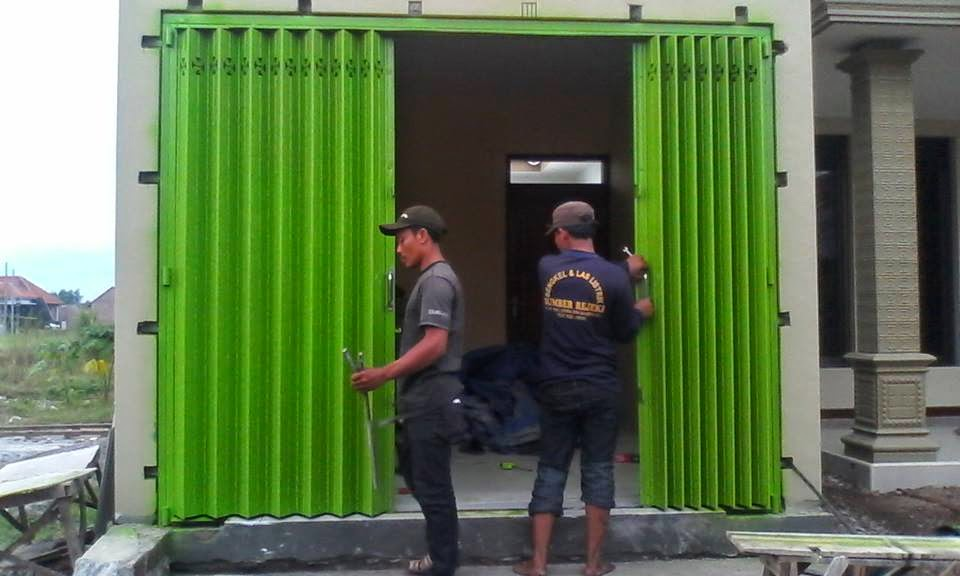 spesialis fabrikasi pintu harmonika Jakarta Barat