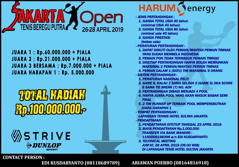 Jakarta Open 2019