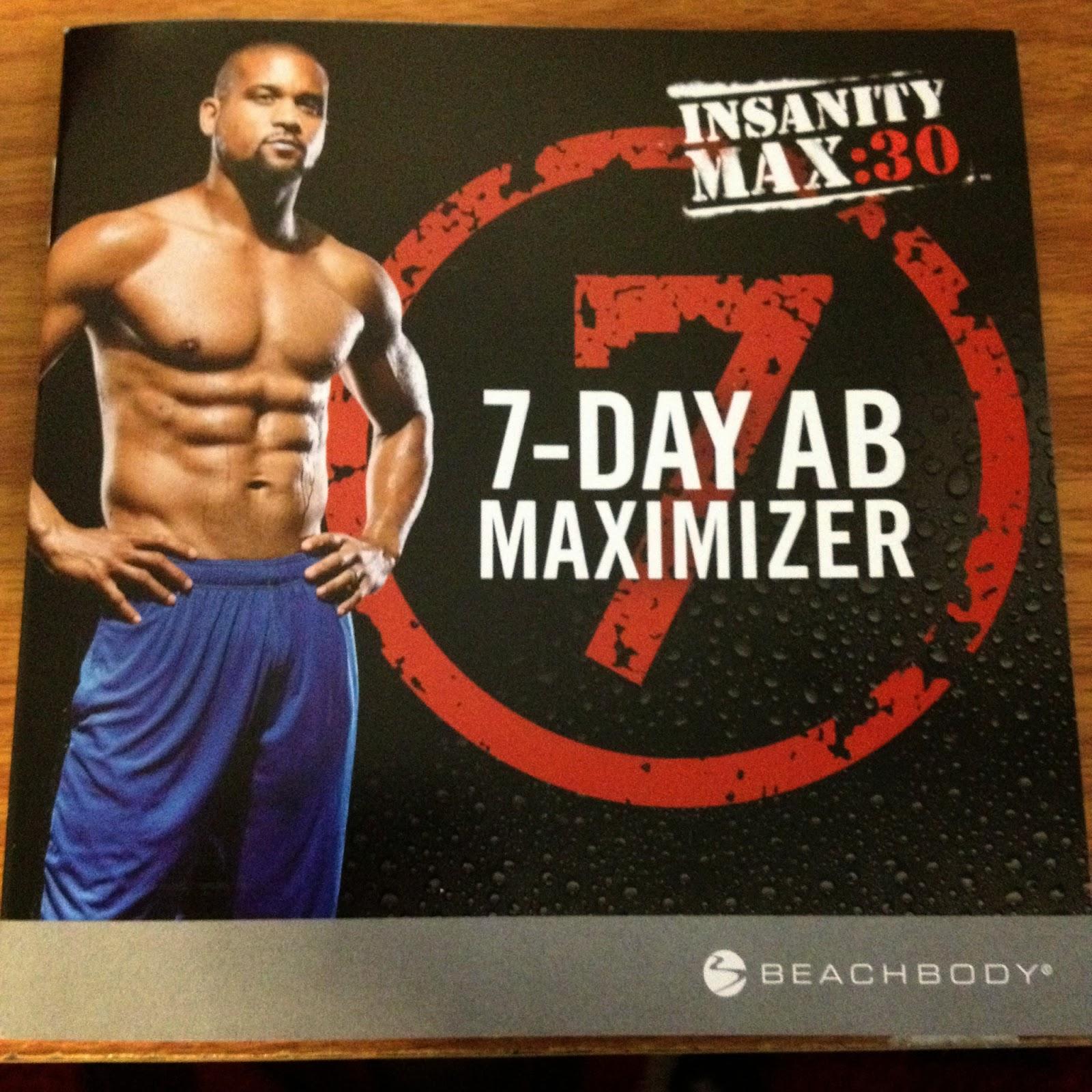 Team Soar Fitness: Insanity Max 30 7-DAY AB MAXIMIZER