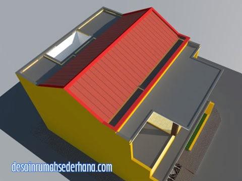 gambar rumah 2 lantai untuk hook kpr type 21/60 | desain