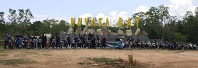 Jelajah Kota Batam Supra GTR