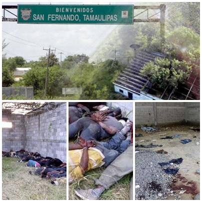 Desempolvan el caso San Fernando en Tamaulipas