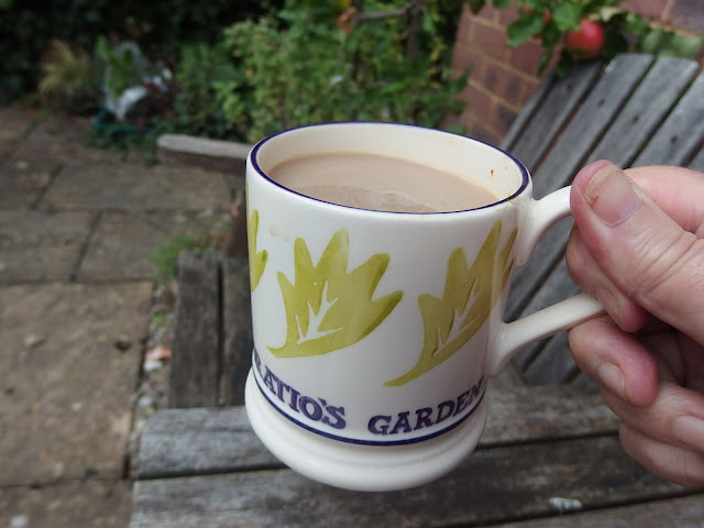 My favourite mug - not just for the garden