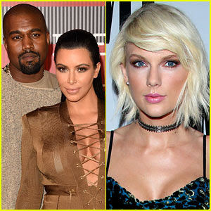 Kanye West, Kim Kardashian, Taylor Swift video