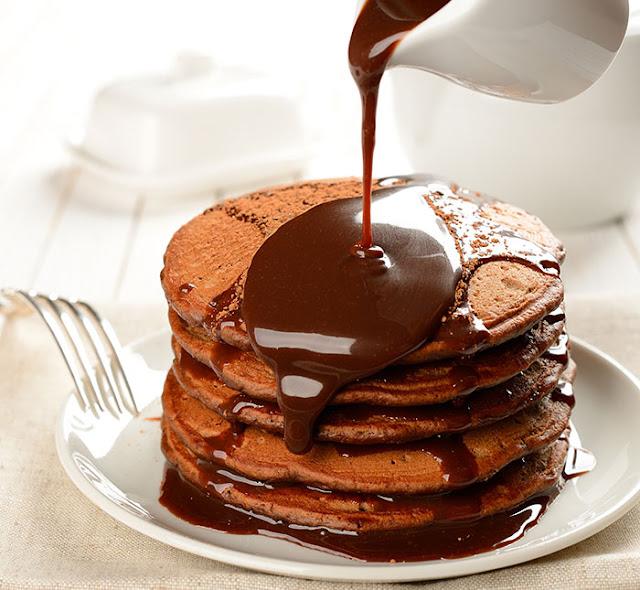 Resepi Pancake Coklat Mudah dan Sedap